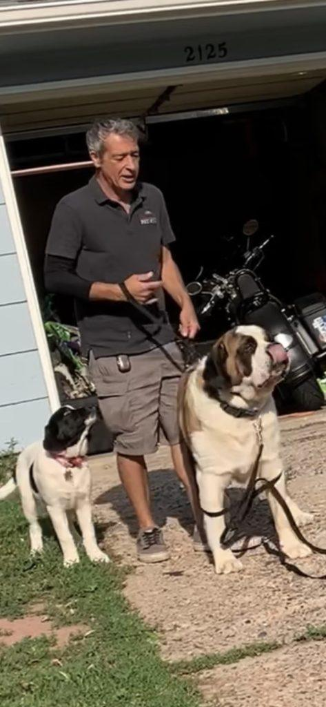 Will of front range pet stop works with Bruce and Gracie